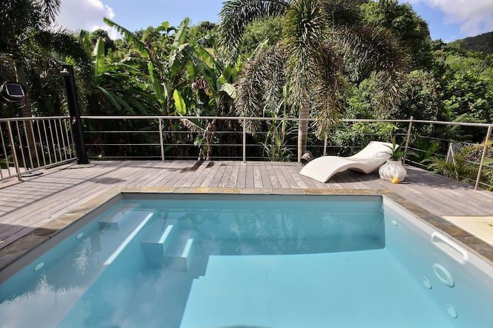 Cocon de charme avec piscine privée, accueil +++++
