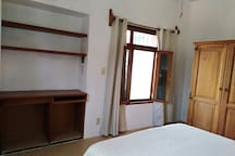 Bedroom #1 - Working area and window