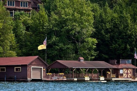 Lake Placid Adirondack Cabin - Lake Placid - 旅舍