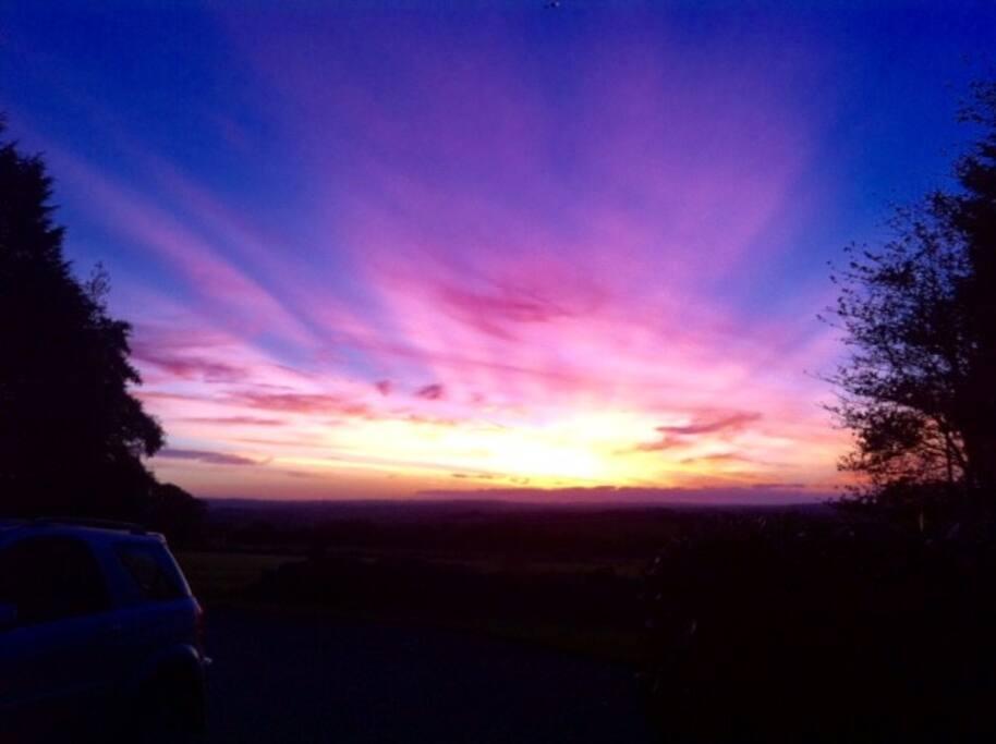 Wonderful sunsets