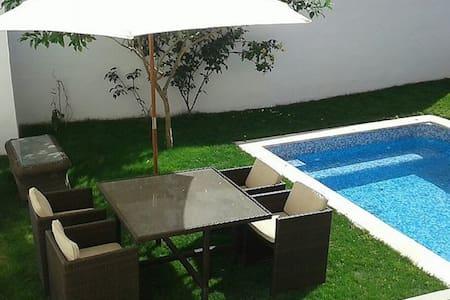 Casa Juan ,piso individual con piscina y barbacoa - Maria de la Salut