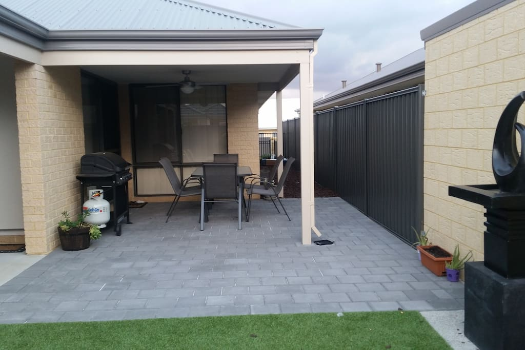 BBQ and Alfresco area.