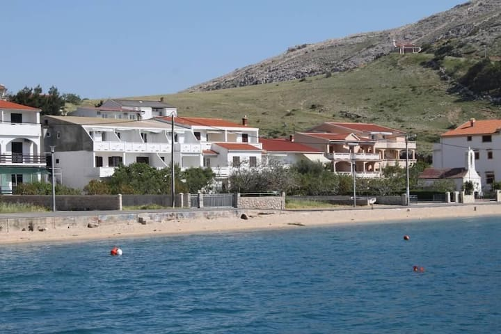 Studio flat near beach Metajna, Pag (AS-6486-b) - Metajna - Inny