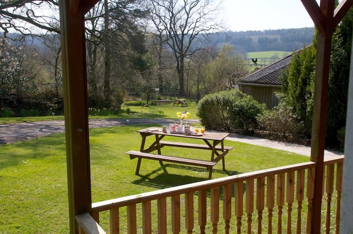 Carp Lodge at South farm holiday cottages