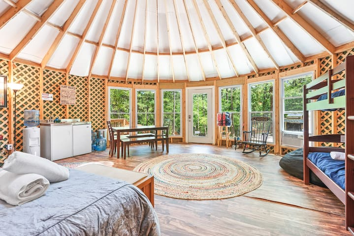 Serene, Secluded Yurt w Private Lake