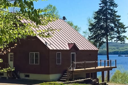 NEW LISTING! Spectacular lakefront home w/ private dock, firepit- dog-friendly!