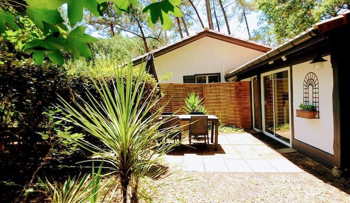 Hossegor Petite maison mitoyenne 35m2&jardin