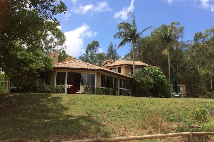 Rural setting near Theme Parks. Peace & private. - Upper Coomera - Appartement