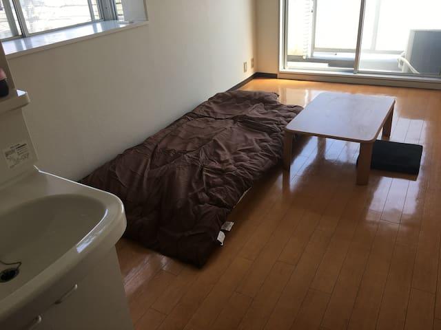 ホテルより安い!借り手が見つかるまでの限定ワンルームマンション名古屋 - Chikusa Ward, Nagoya - Apartamento