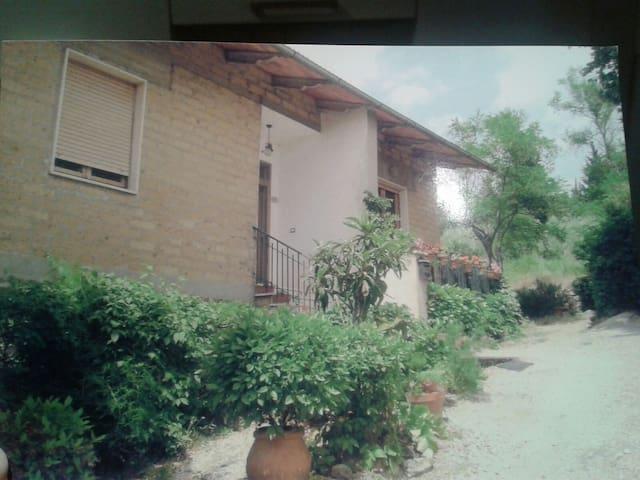 Casa nelle colline del Chianti