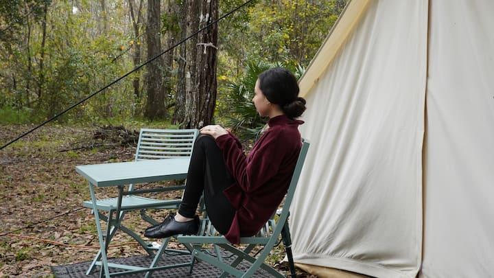 Unique Glamping Tent,  rural, near Disney