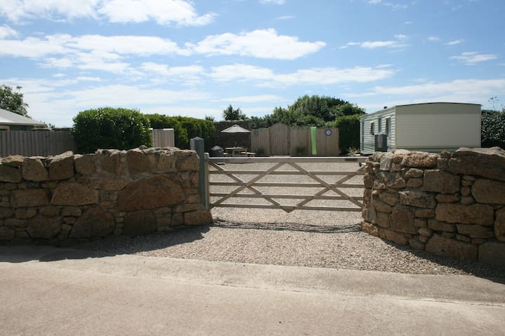 Your own private entrance and parking area