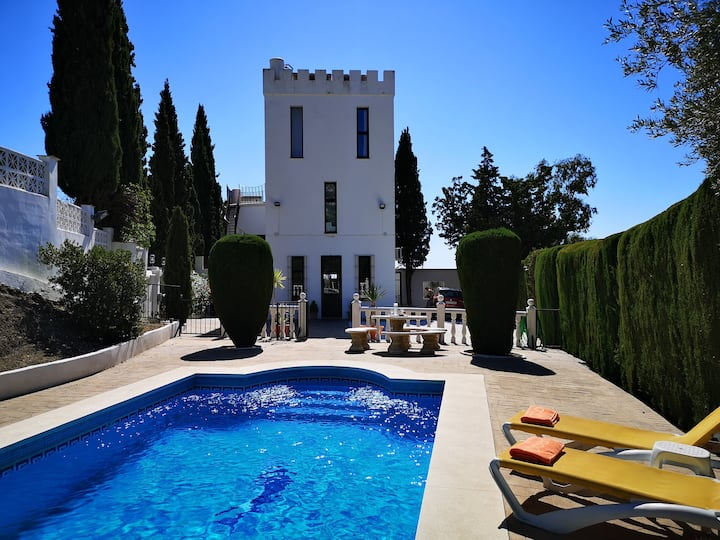 Stunning private Castillo near Mijas Pueblo