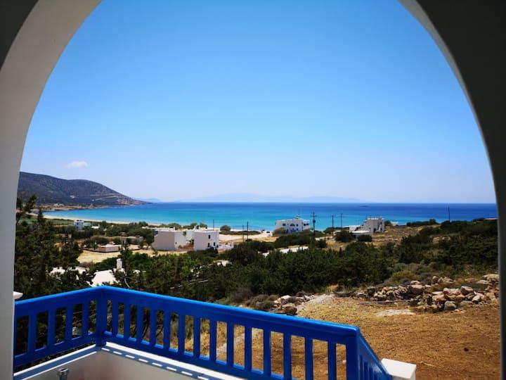 Katerina's seaview Cycladic villa