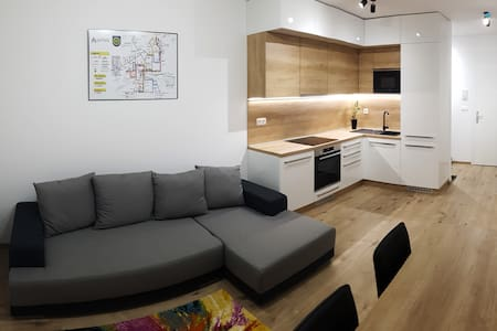 Fully Equipped Apartment with Underground Parking