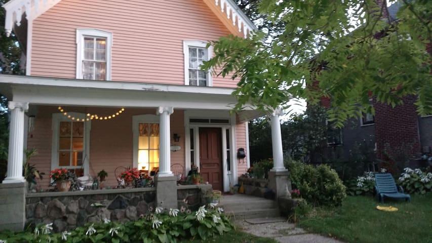 """Part of Ann Arbor's famous """"porch"""" lifestyle."""