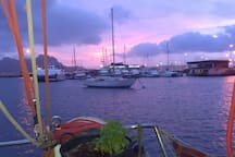 Purple sunset :D
