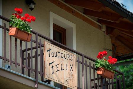 Toujours Felix      alloggio  - GRENIER - - Cerian-epaillon - อพาร์ทเมนท์
