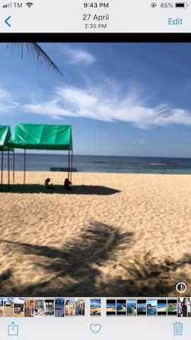 Bolinao beach club  Is trancient room with tv wifi
