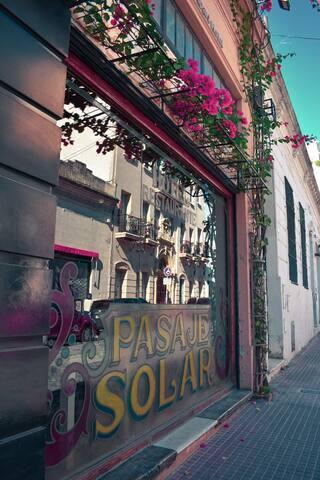 ¡Pasaje Solar, la mejor ubicación!