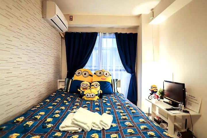 162★5F★Near USJ/Osaka Aquarium★2P Beautiful★wifi! - Ōsaka-shi - Flat