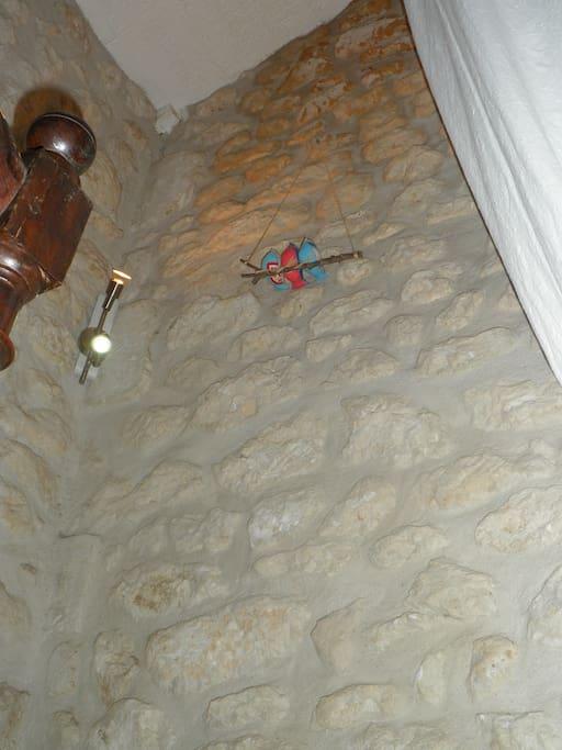 détails dans l'escalier