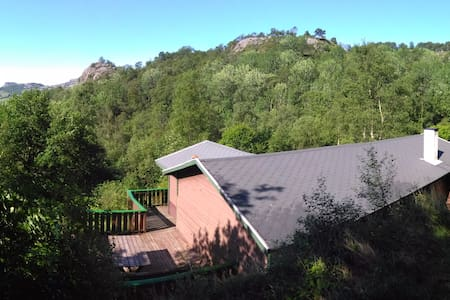 Newly renovated cabin in the middle of nature - Eigersund - 小木屋