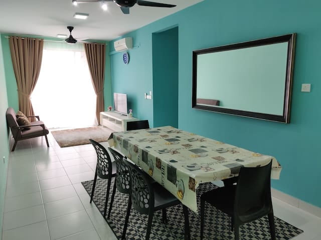 Aprmt with Condo facilities for weekend getaway