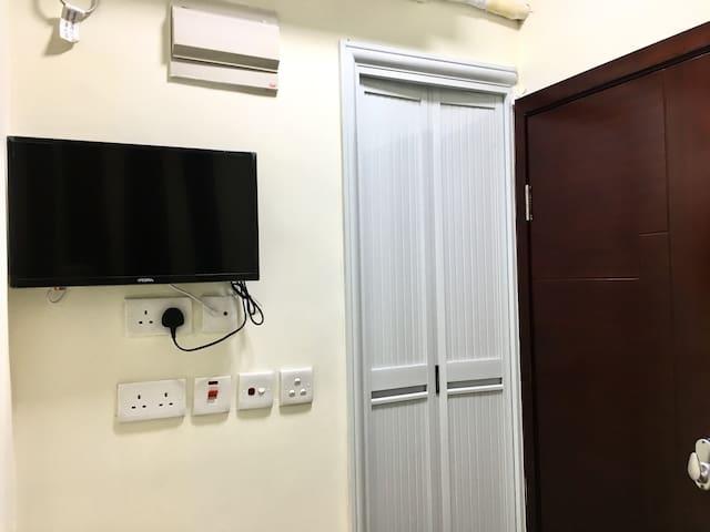 佐敦渡船小栈-舒适温馨单人房-独立卫浴-008