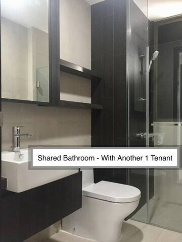 Bathroom - Sharing with Another Tenant (1 Person)