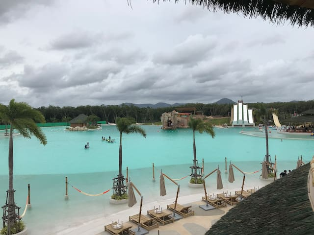 Blue Tree Lagoon World Class water park just 10 minutes