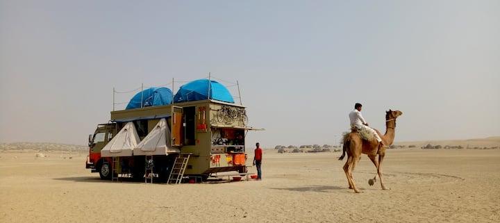 Caravan / Campervan  Holidays Jaisalmer