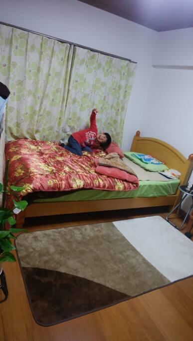 ベッドの部屋は、エアコンはついていません。どうしてもという場合は、ご相談ください!