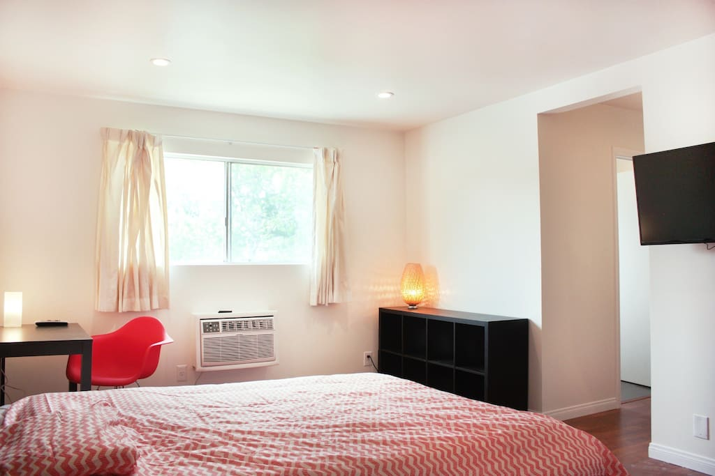 Alternate View of Bedroom. HDTV w/ DirecTV