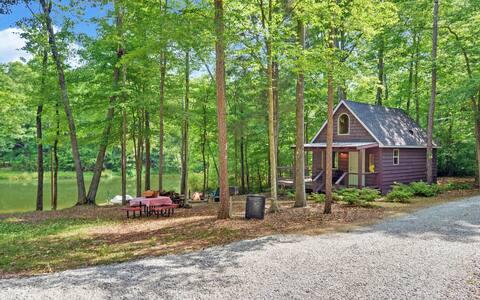 Buttercup Cottage retraite aan privévijver