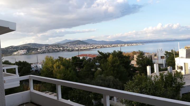 B_Vraurwna,Konstantinos house Magnificent view