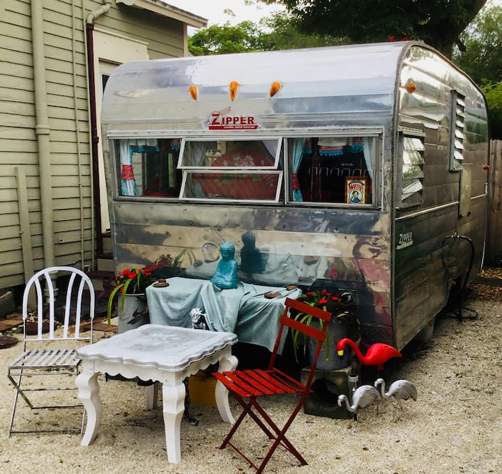 Glamper Gypsy Wagon, near town, solo or double,