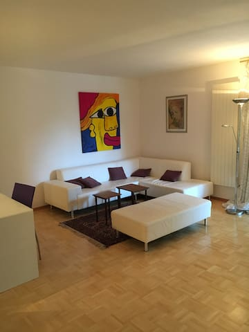 2 Zi Wohnung 70 qm g.U. Ruhig Sonne - Karlsruhe - Condominium