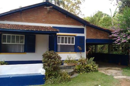 Casa de Campo Rústica Aconchegante - São Roque