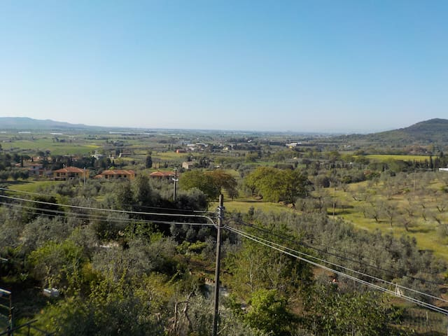 Appartamento con vista a Suvereto - Suvereto - Appartement