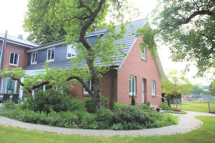 Ruhige Gästewohnung im Hamburger Umland