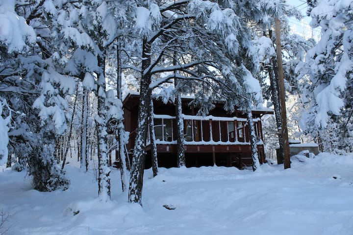 Cozy, Tranquil, Romantic Cabin in Pinetop! - Pinetop-Lakeside - Houten huisje