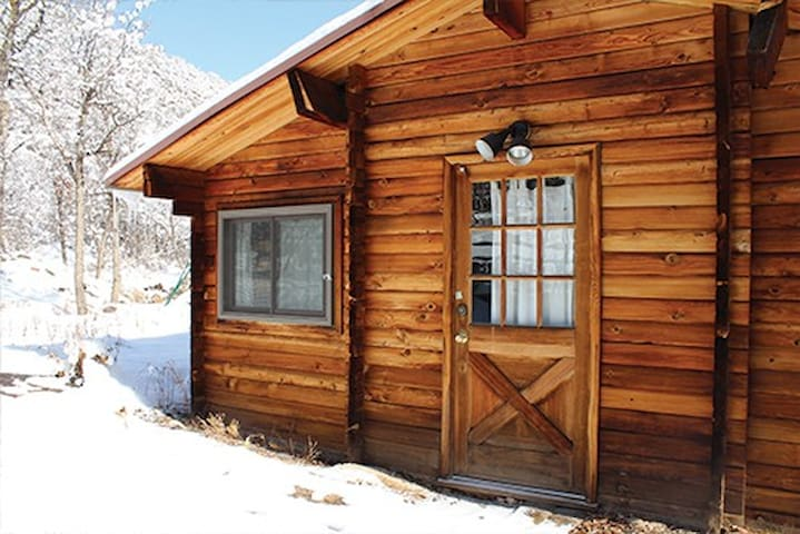 Affordable Cozy Cabin Sleeps 18 & Fur Friends - Snowmass - Stuga