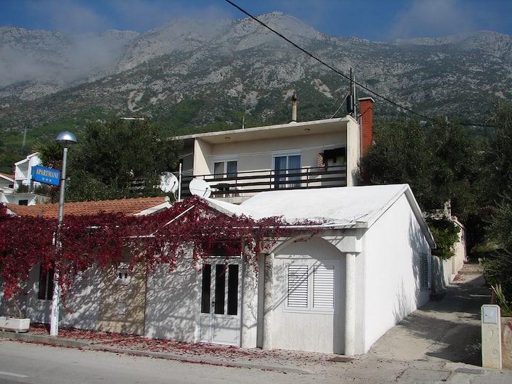 Apartment Željo - Apartment with two terraces: A1(4+1) Gradac, Riviera Makarska