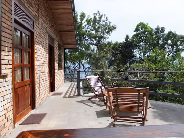 Welikande Villas Double room terrace Knuckles Mts. - Udispattuwa - Bed & Breakfast