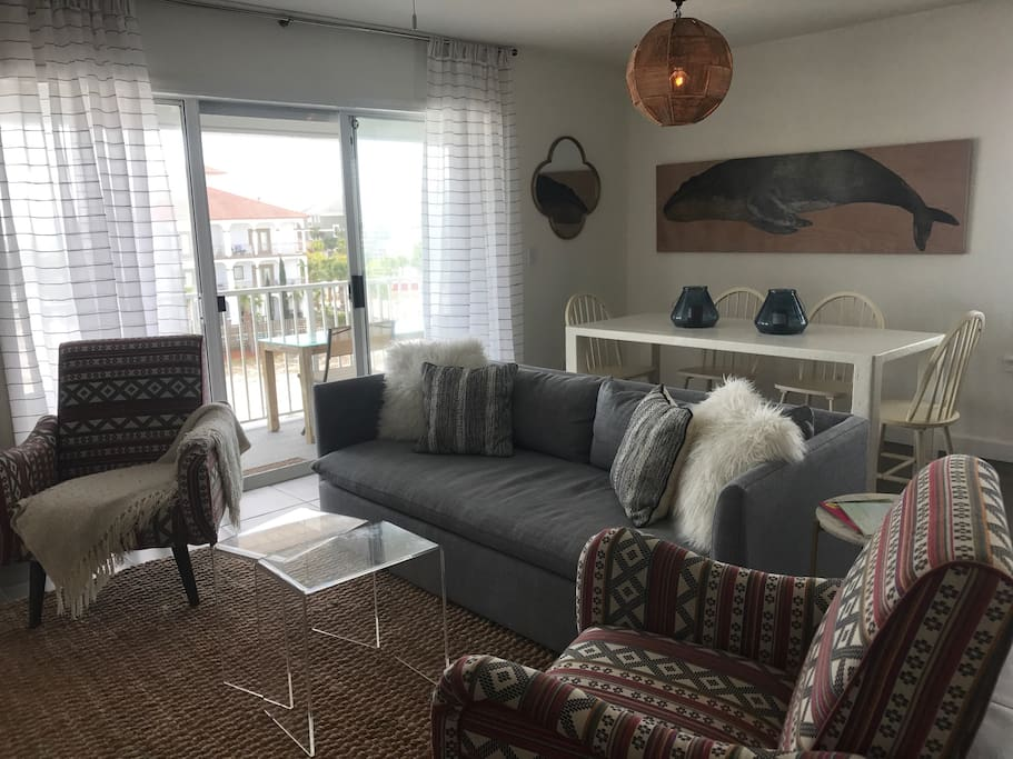 Living and Dining from Entry
