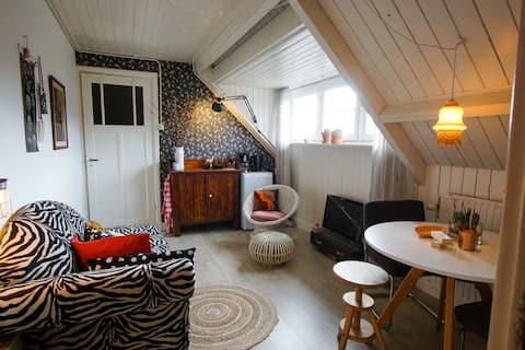 """Hyggelig loftsleilighet i """"Nederlandsk stil"""" på Hilversum"""