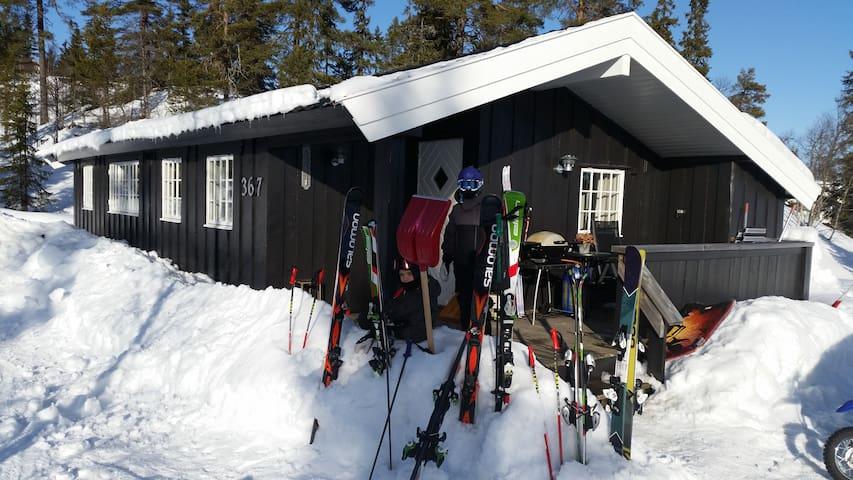 Trysilfjellet Sør - Ski inn-/ ut - Trysil - Almhütte