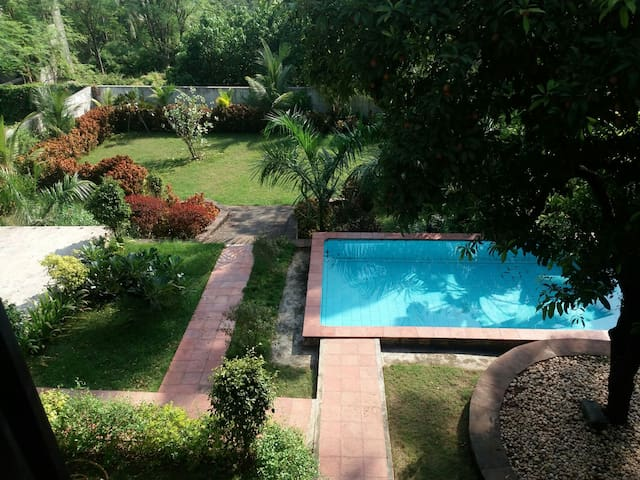 3bhk Bunglow with garden &  pool