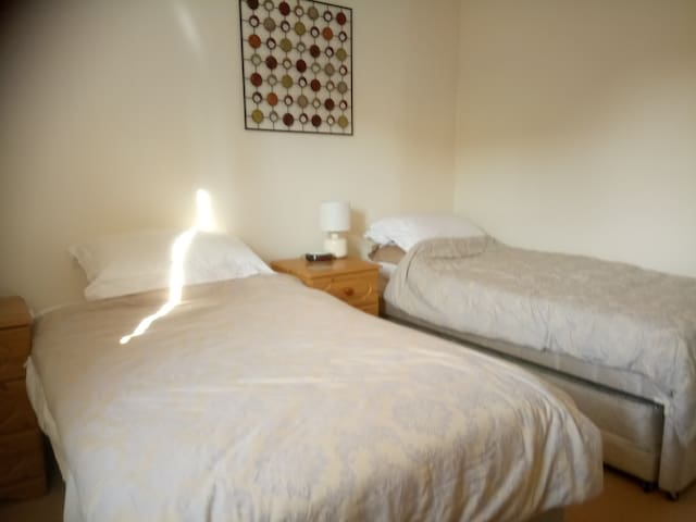 Twin room, double room also, listed separately.
